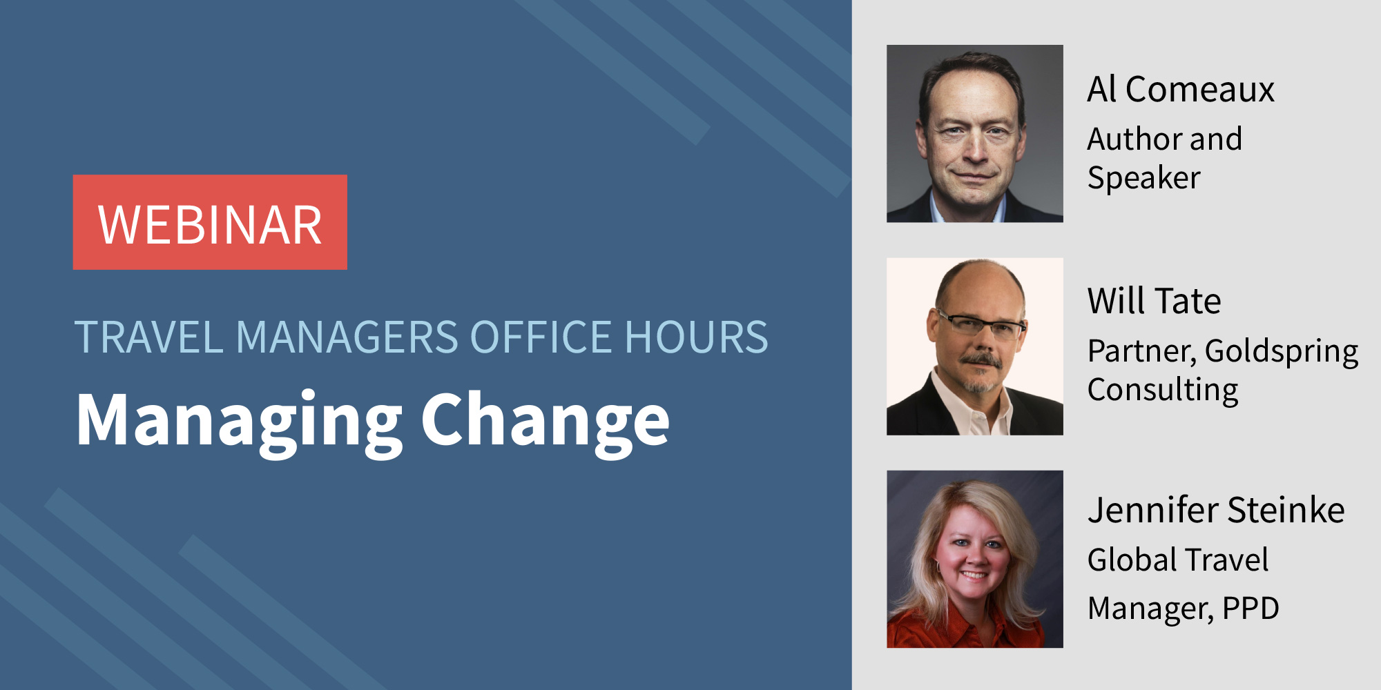 Travel Managers Office Hours: Managing Travel Program Changes