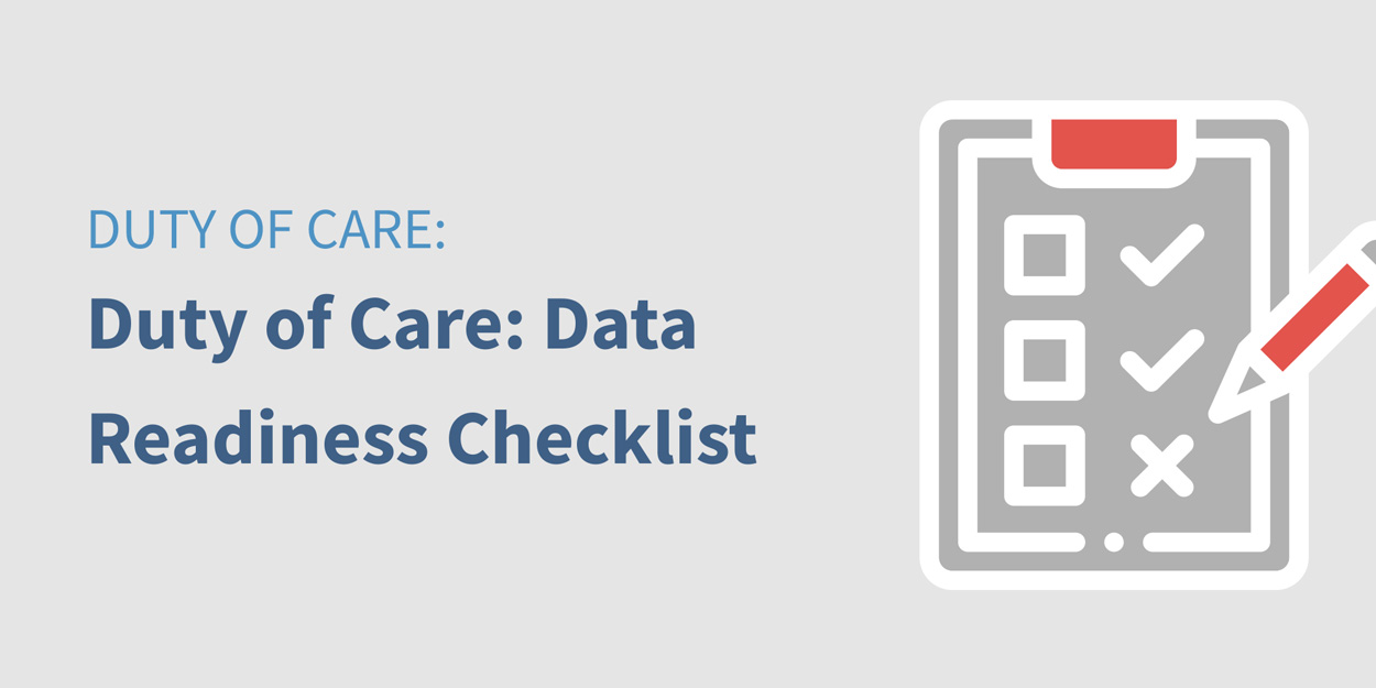 Traxo Resource Center Duty of Care Data Readiness Checklist Featured Image
