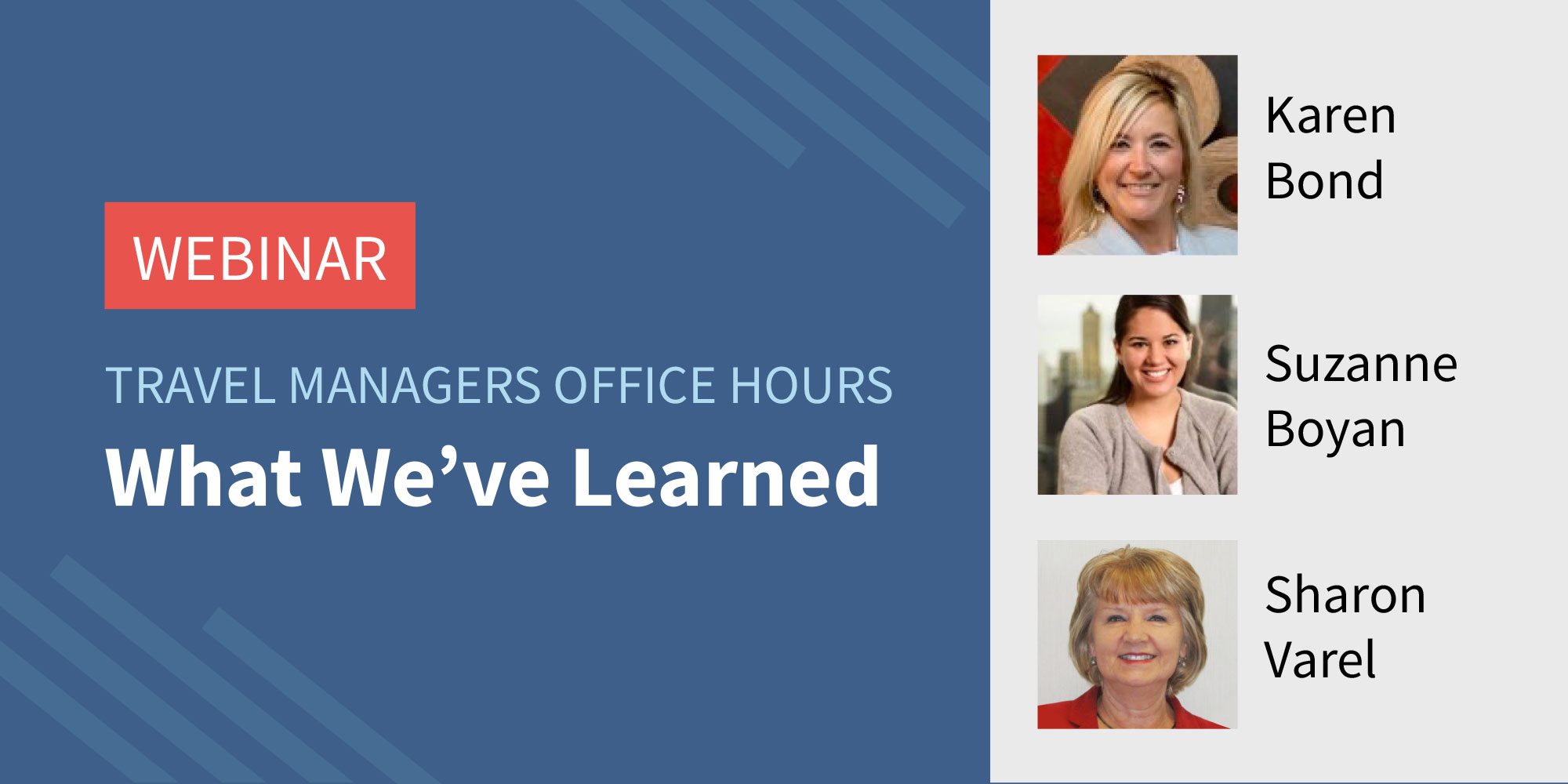 Traxo Travel Managers Office Hours Webinar What We've Learned Featured Image